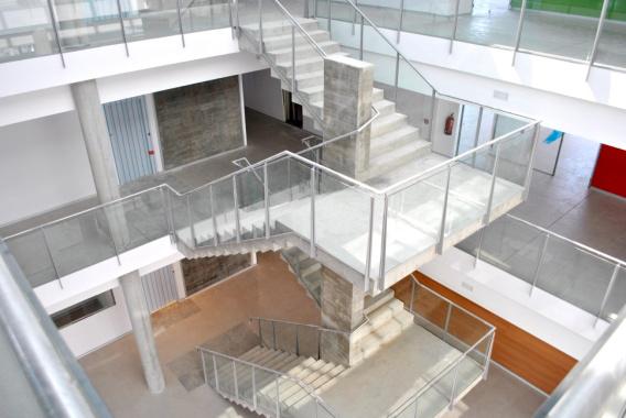 Iluminación cenital de cuerpos de escaleras