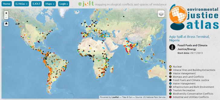 Atlas Global de Justicia Ambiental