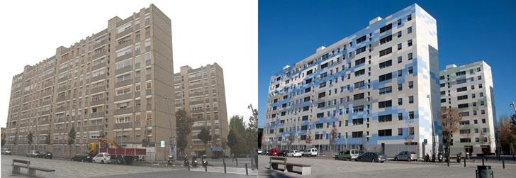 Rehabilitación bloques viviendas