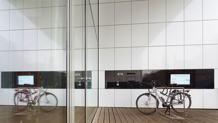 Efficiency House Plus, bici