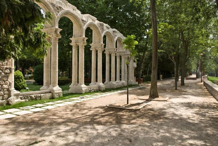 Parque de la Isla, Burgos