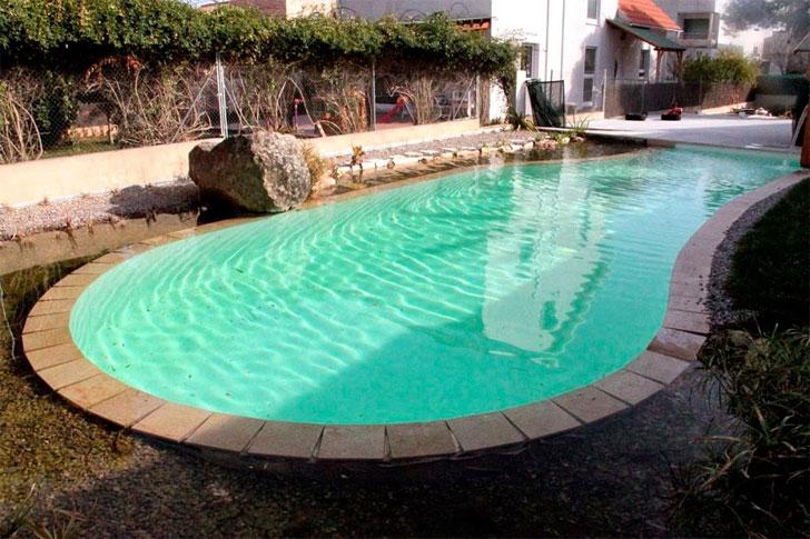 Unarbolisimo, piscina natural