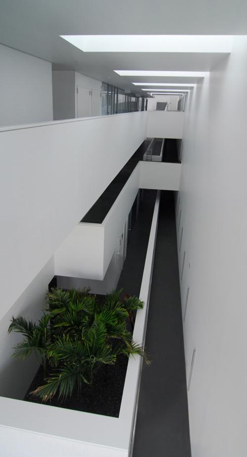 Interior hall-distribuidor.
