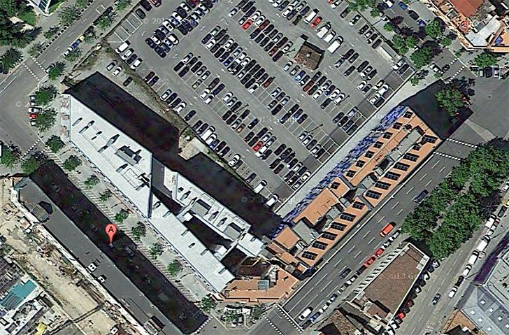 Vista aérea edificio