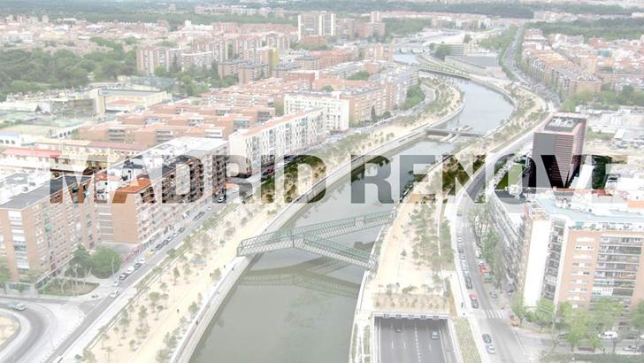 El área de actuación del Proyecto Madrid RENOVE Río