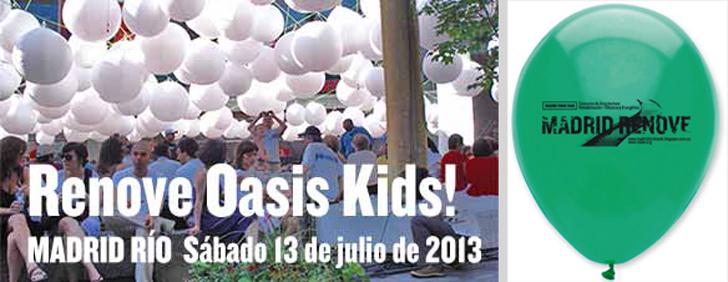 Acciones de promoción infantil del Concurso Madrid RENOVE Río