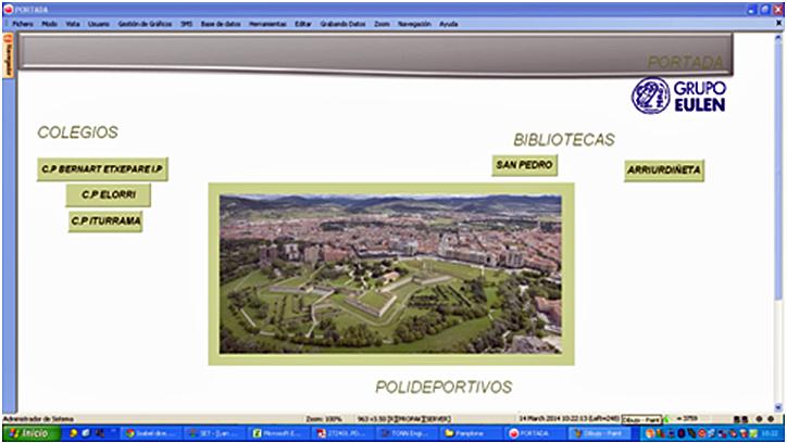 Gestión Energética de Edificios Municipales en Pamplona