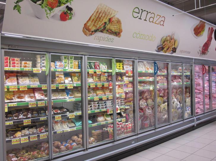 Refrigeración de alimentos en Eroski