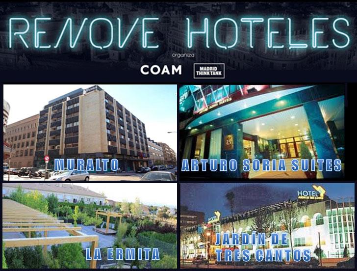 Cartel Madrid Renove Hoteles