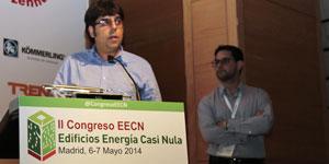 José Jiménez y Alfonso Sanchidrian, Onyx Solar, en el II Congreso EECN