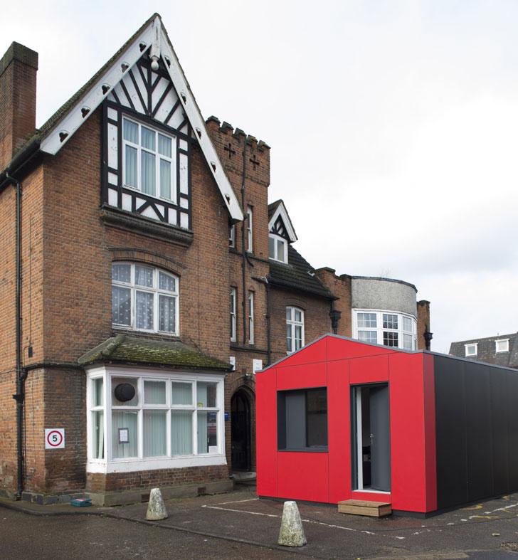 Y: Cube, exterior 2