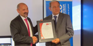 Entrega Certificaciones Ambientales de Producto a Saint-Gobain Placo