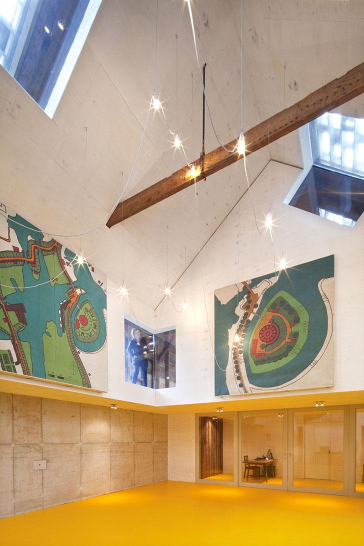 Galeria de arte de Hi Macs en Fort Asperen