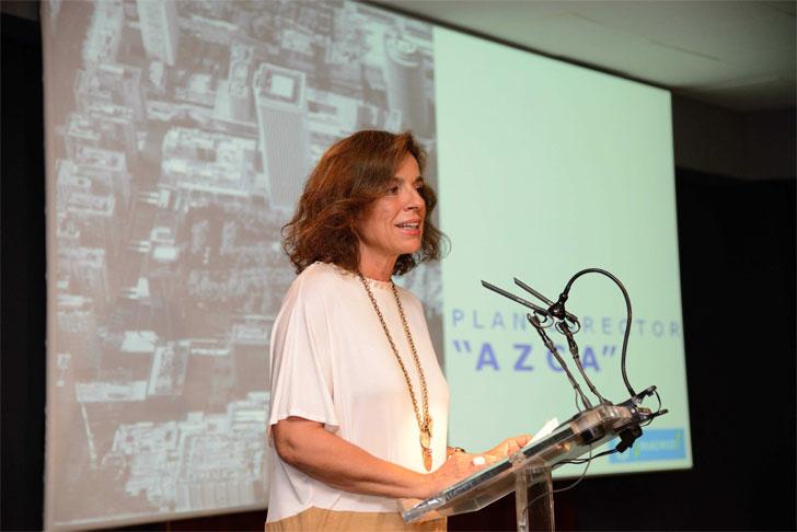 La alcaldesa de Madrid, Ana Botella, presenta el Plan Director Azca