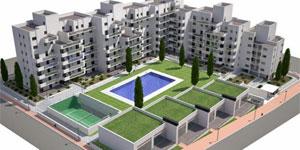 Geotermia + Ventilación con recuperación de calor para bloque de 80 viviendas en Madrid