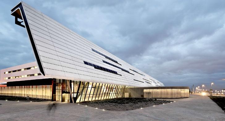 Arquitectura de la Escuela de Postgrado de la Universidad Europea