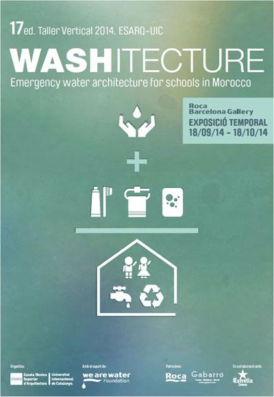 WASHITECTURE. Arquitectura de Agua de Emergencia para escuelas de Marruecos'