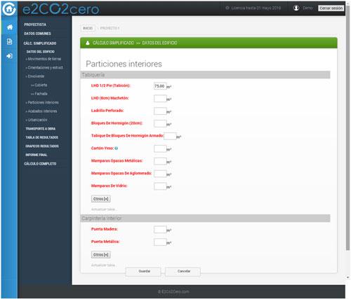 Software  e2CO2cero