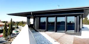 Ejemplo de hibridación y datos reales de consumo de energía en edificio residencial