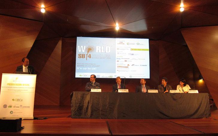 Presentación del Congreso Mundial de la Edificación Sostenible, World SB 2014 Barcelona