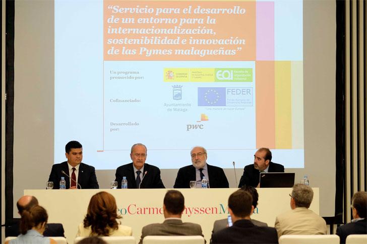 Presentación del Centro de la Tecnología de la Sostenibilidad dirigido a las pymes malagueñas