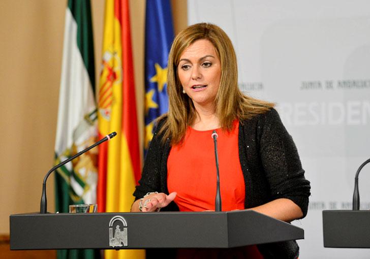 Maria Jesús Serrano, Consejera de Medio Ambiente y Ordenación del Territorio.