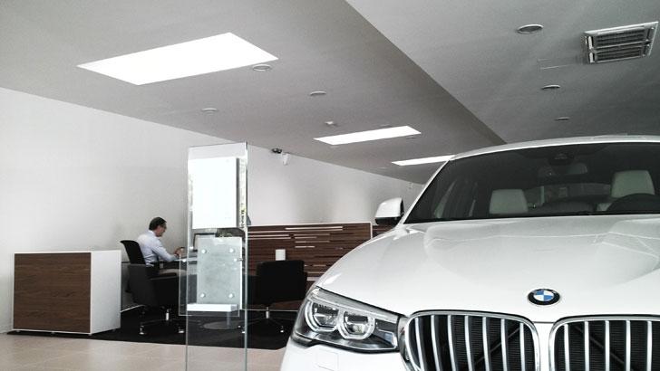 Concesionario de BMW en Murcia que ha instalado LledoSunoptics