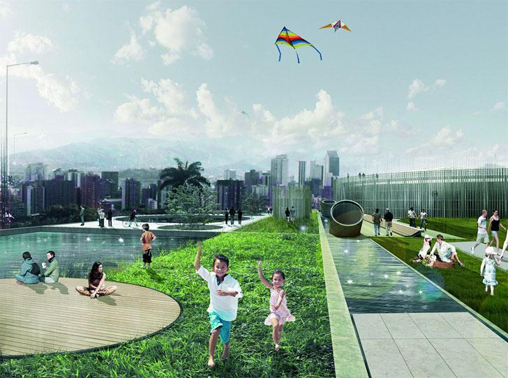 Holcim Awards Oro para la remodelación de un parque urbano