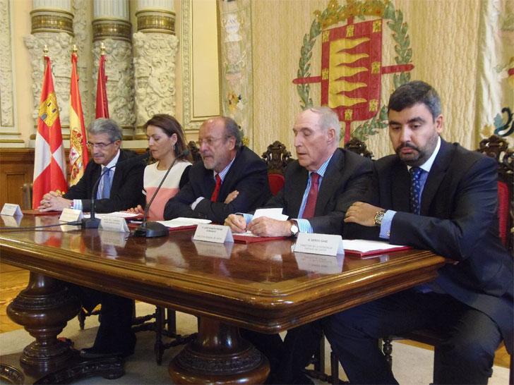 Salón de Recepciones de la Casa Consistorial de Valladolid ha acogido la presentación del proyecto REMOURBAN