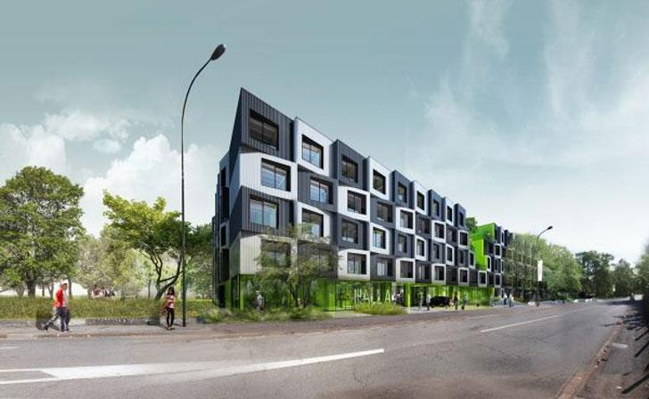 Residencia para estudiantes en la ciudad francesa de Pau