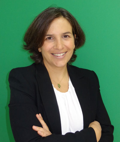 Maruxa Seárez, directora de la fábrica de Lafarge en Toledo