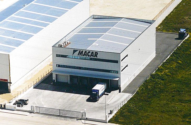 Centro logístico Armstrong, Alcalá de Henares, Macar