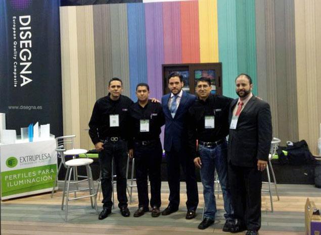 Disegna participa en Expo Cihac 2014 en Mexico