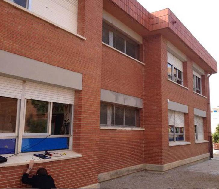 La Fundació Tarragona Smart apoya el aislamiento térmico del CEIP Bonavista