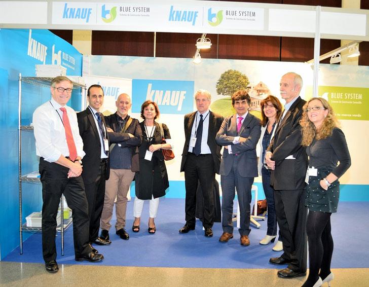 """Knauf estrena su nueva imagen de sostenibilidad """"Blue System"""" en WSB14"""