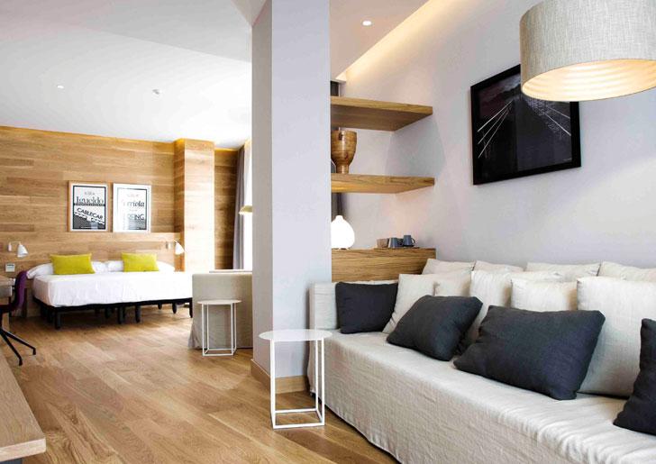 Hotel Zenit San Sebastián, habitación