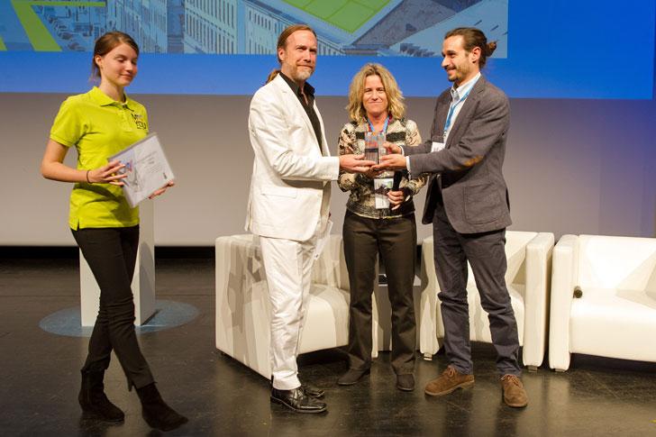 Entrega Premio Eurocities 2014 a Málaga