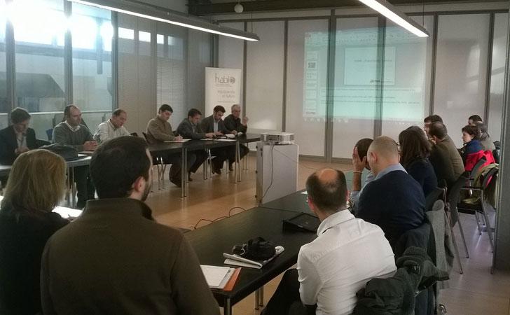 Mesa coordinada por el Clúster Habic en Ecodesign Meeting 2014