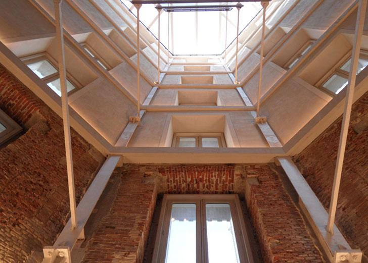 Interior nueva tienda de Zara situada en el número 23 de la calle Serrano, en Madrid.