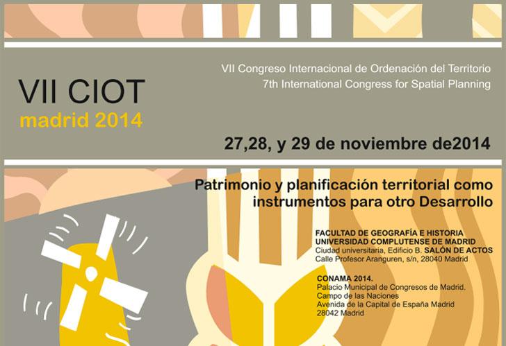 VII Congreso Internacional de Ordenación del Territorio en Madrid