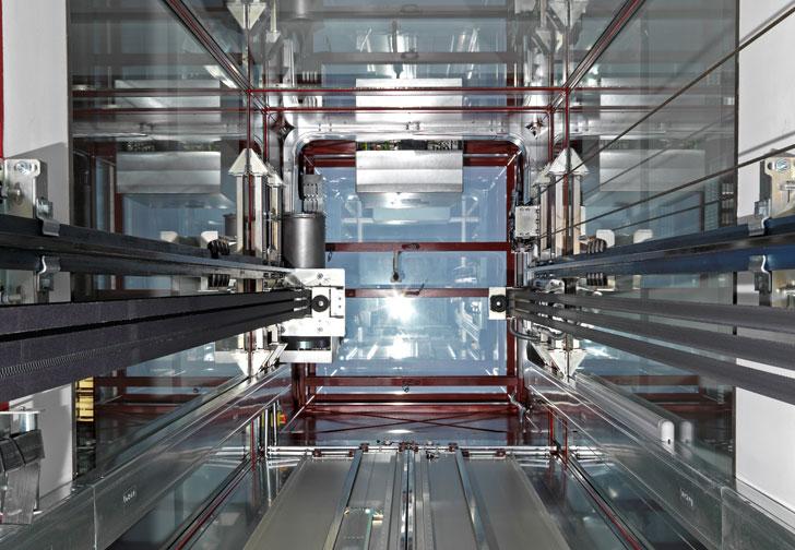 Studio, un ascensor con un 50% más de capacidad en el mismo espacio
