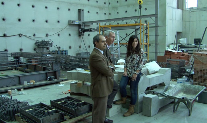 Víctor Yepes, José Vicente Martí y Tatiana García, investigadores del Instituto de Ciencia y Tecnología del Hormigón de la Universitat Politècnica de València