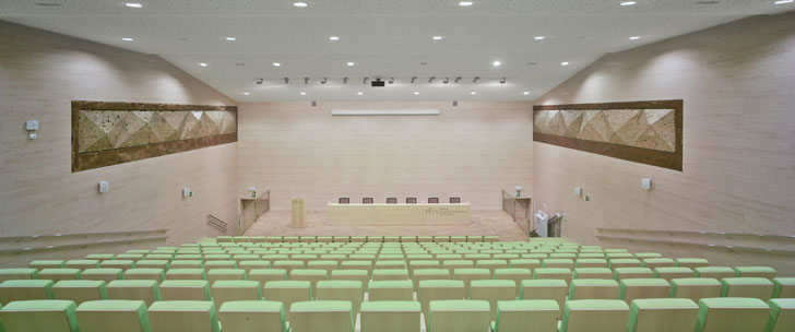 Centro de Transferencia Tecnológica de Almería, Edificio Pitágoras, auditorio