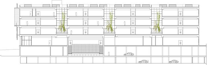 Centro de Transferencia Tecnológica de Almería, Edificio Pitágoras y Tecnova (Sección)