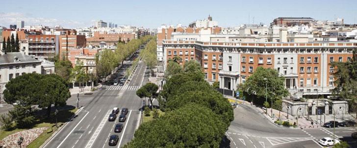 Nueva sede del Ministerio de Asuntos Exteriores, Plaza del Marqués de Salamanca