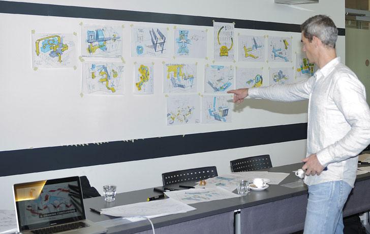 Comienzaen Holanda el curso Deerns Concept Studio