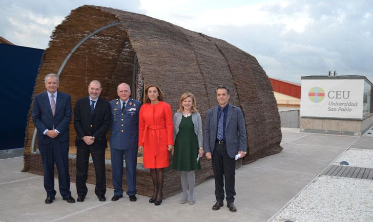 CEU colabora con Airbus en el diseño de nuevas viviendas de emergencia