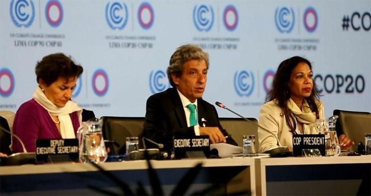 conferencia sobre el clima de las Naciones Unidas celebrado en Lima