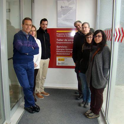 Participantes en el taller de emprendimiento