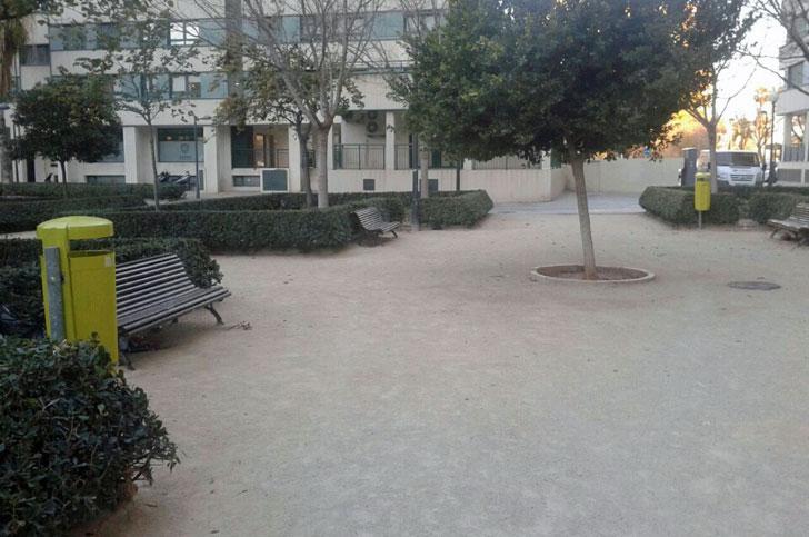 Papeleras ecológicas en Valencia
